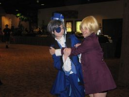 Ciel and Alois by RayneWolfspeaker