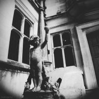 Two Temple Cherub by lostknightkg