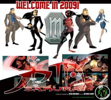 welcome in 2009 by makampo