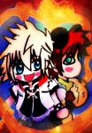 Roxas and Gaara for Okiro by KawaiiDarkAngel