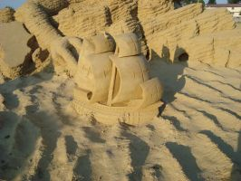 Sand art in burgas 12 by tonev