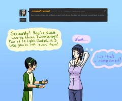 Toph? by Silent-Shanin