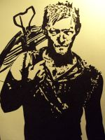 Daryl Dixon by supercli