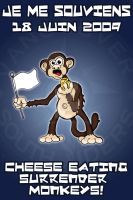 Cheese Eating Surender Monkey! by Bleezer