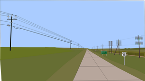 New Openwire telephone line in the Nowhere Lands by OceanRailroader