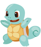 Squirtle illustration by DickensMr