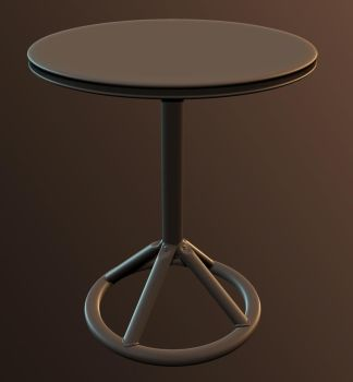 HighPoly Table by dudealan2001