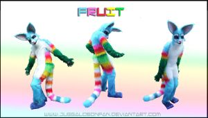 Fursuit Commission - Fruit by Vixen8387