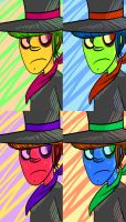 Technicolor Murdoc by anniemae04