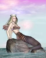 COMMISSION: Mermaid by vaia