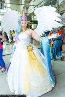 Princess Celestia - ECCC 2014 - 3 by Chochomaru