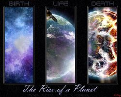 Rise of a Planet Wallpaper by Lotay