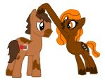 Chocolate Sweets and Chocolate Chunk by Strawberry-T-Pony