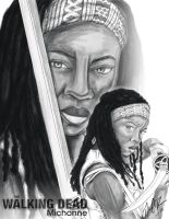 TWD: Michonne by DarkGX