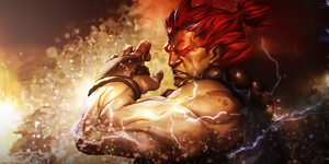 Akuma Street Fighter by BiffTech