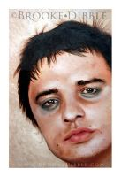 Pete Doherty painting by BrookeDibble