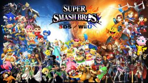 Super Smash Bros. Wii U/3DS Wallpaper by Erron--Black