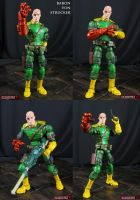 Baron Von Strucker Custom Marvel Legends figure by Jin-Saotome