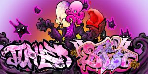 'The Host' Tupher-Sage Colab by Care1ne