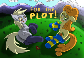 For the plot! by Ziemniax