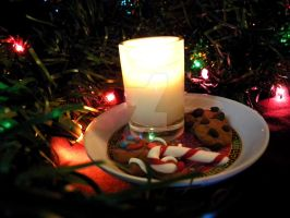 Christmas Cookie Candle II by thedustyphoenix