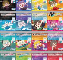 touhou credit card by Godling-Studio