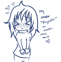 My 'inner' Fujoshi by theREDspy