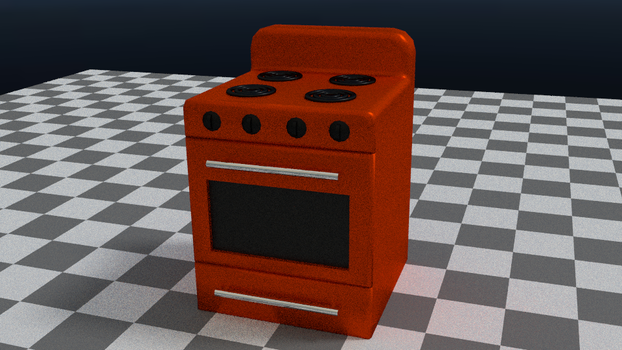 a stove by YourGodLucifer