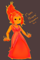 Flame Princess by Masqueraderrr