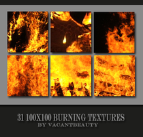 31 Burning Textures by VacantBeauty