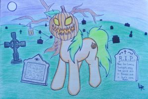 In the Forgotten Graveyard by DubstepBrony4Life