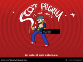 Scott Pilgram Avatar by ARTic-Weather