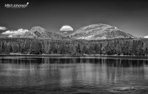 Two Peaks BW by mjohanson