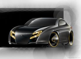 Lexus SC concept by yamell