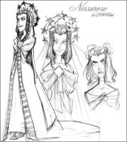 Nessarose - Wicked by lberghol