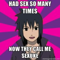 Flirting Sasuke Meme #6 (Requested) by bekka72798