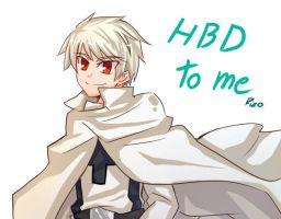 APH : HBD TO ME by arcadear