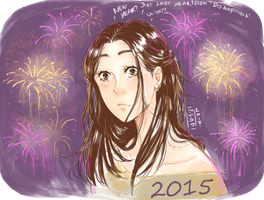 NEW YEAR 2015 by Ayayou