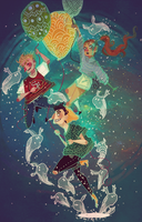 Across the Universe by Jimmy-ilustra