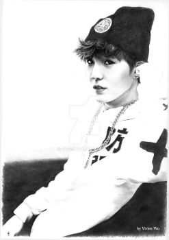 Suga from BTS by Jai-D