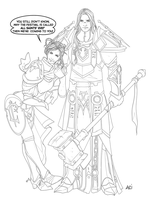 'Arthas and Halloween' teaser by scourge-minion