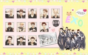 Exo Cute Wallpaper 2 by KpopGurl