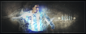 Lionel Messi sig by JoeyDuis