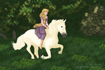 Rapunzel for Lacey by songofafreeheart