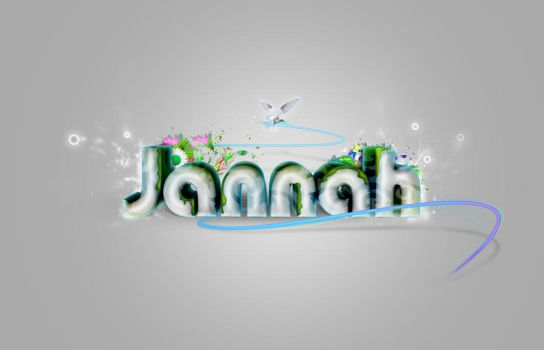 Typography - Jannah by Mohammed7