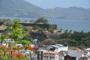 View of FORT DE FRANCE from the Calvary 2 by A1Z2E3R