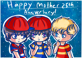 Happy 25th Anniversary Mother Series! by Jrynkows