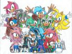 Big Hedgie group!! :D by SupaSilver