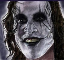 Brandon Lee- The Crow by saintaker