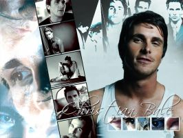 Christian Bale Wallpaper by mamapopo